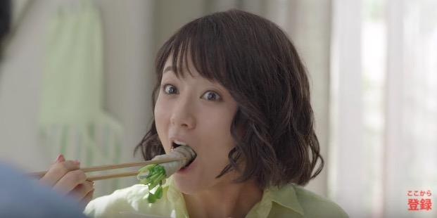 クラシルCM 木村文乃さん出演の  ハナ歌クッキング編 「#ふみ飯」が話題に!