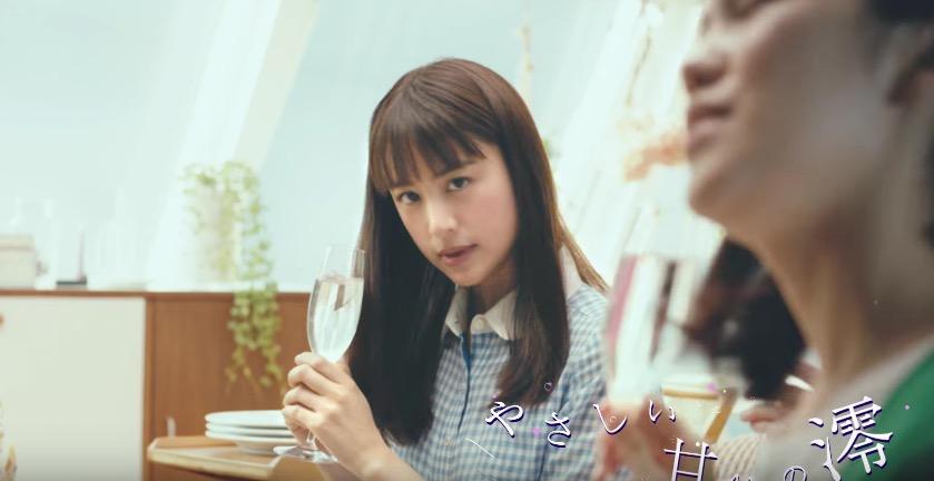宝酒造のCM「澪パ」斉藤工さんと共演の山本美月さんが可愛い!