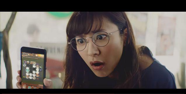 メガネのキレてる可愛い女の子(女性)は誰?【逆転オセロニア】CM「なんなのよ」篇