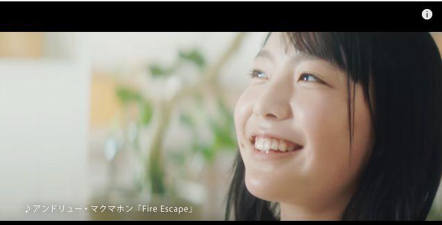 パナソニックCM ハイレゾコンポで聴く可愛いすぎる女性(女優)は誰?今話題の駒井蓮さん!