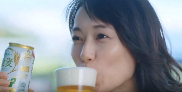 サントリー金麦CM・元気すぎる戸田恵梨香が超可愛いと話題に!