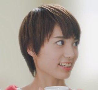 キーコーヒー CM ドリップオンに出演の髪の短い女性の名前は?笠井 海夏子(かさい みかこ)さん!