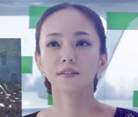 フールー(Hulu)CMの安室奈美恵が美人!メイキング映像も必見!