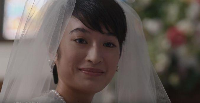 保険のビュッフェ CM 花嫁姿の美人な女性(女優)は誰?名前は?結婚式篇!