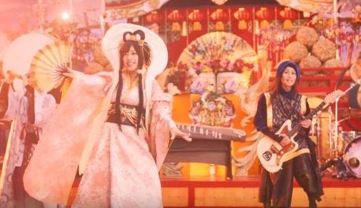 ガリバー初売りCMに和楽器バンドが出演!歌うボーカルの女性が可愛い!