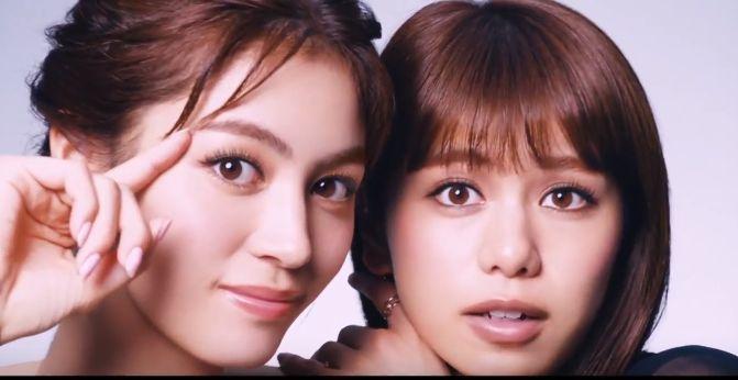 ファシオ マスカラのCMに出演!美人な2人の女性は誰?エクステいらないかもと言う女の子が可愛い!