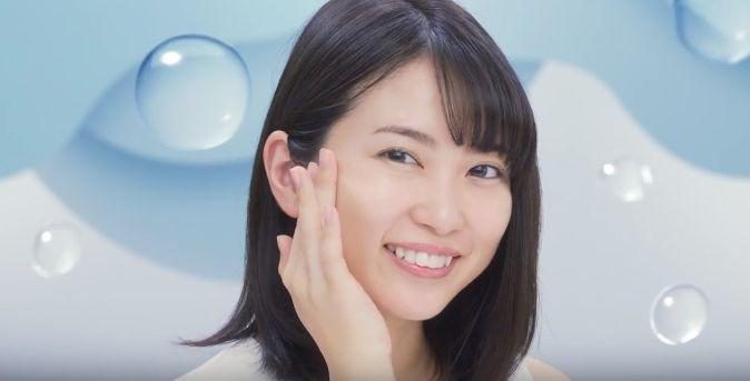 DHC オールインワンジェル CMに女優の志田未来が出演!美人に成長!