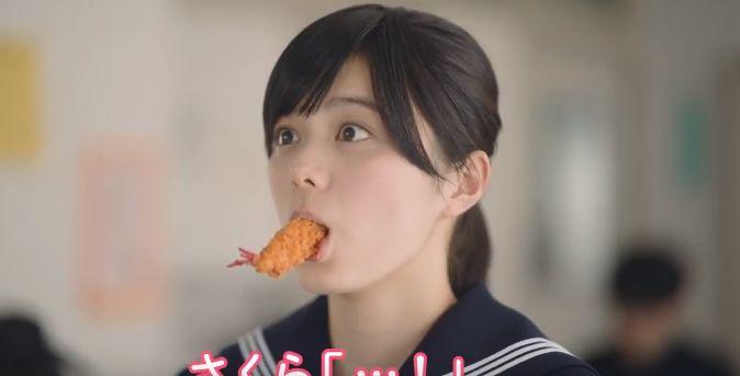 さくらインターネット CMの女優は誰?エビフライを食べるさくらちゃんが可愛い!