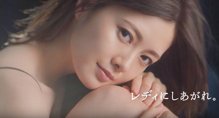 マキアージュ 下地 CMの女優は誰?乃木坂46の白石麻衣がセクシーと話題!