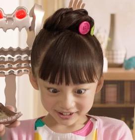 株式会社新進(しんしん)のCMに出演している女の子