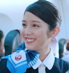 CA役の松田るかさんがめちゃ可愛い!JTA CM「それいけ!空美ちゃん」親子篇