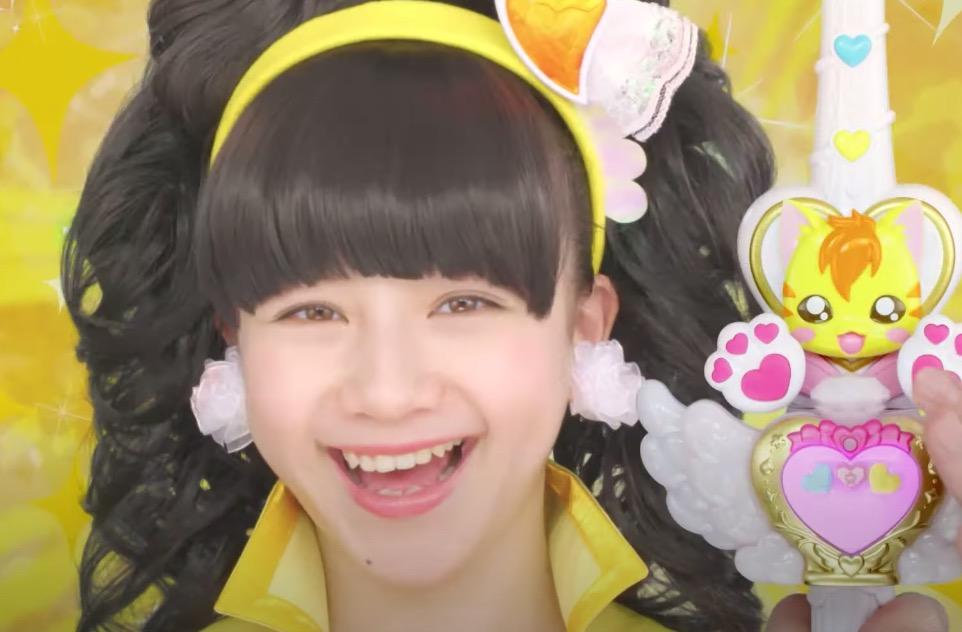 バンダイの「ヒーリングっどプリキュア」のCMに出演している女の子が可愛い!